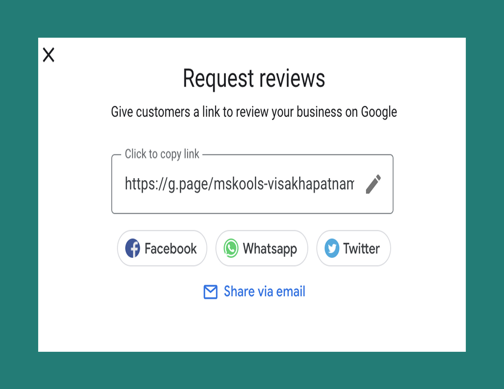 Request reviews